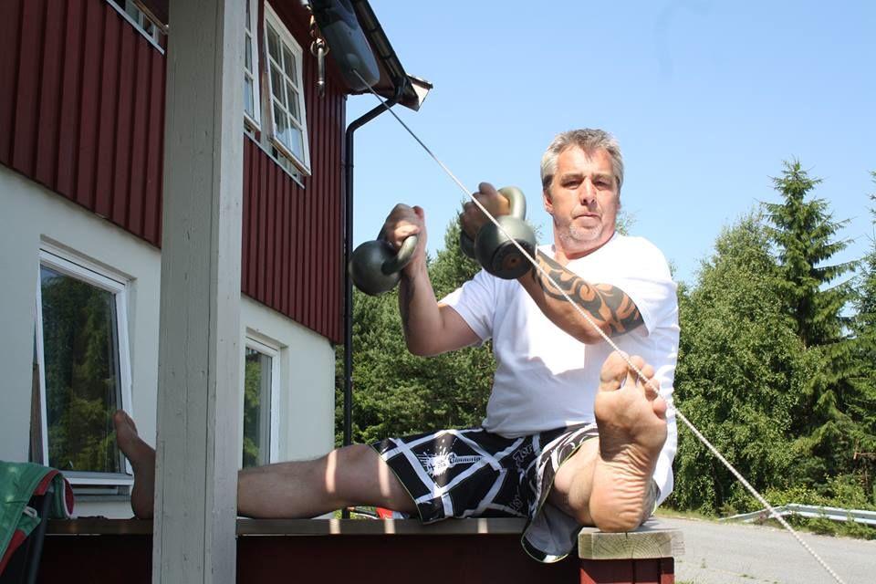 Første ferske fangst med sommerens stretchingbilder :)
